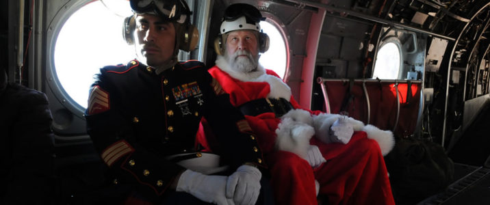 marines-provide-special-escort-for-santa