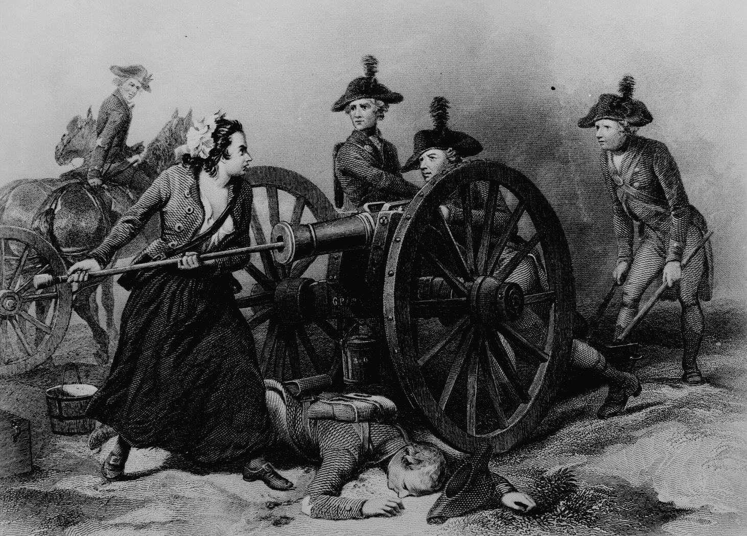 girl fight molly pitcher at the american revolution providence